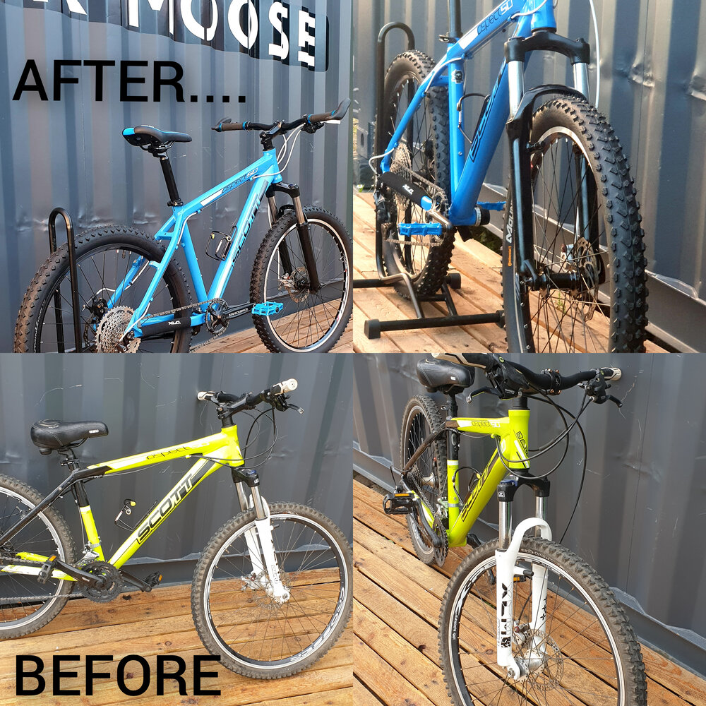 Full Bike Paintwork and Hydrodipping Tamworth
