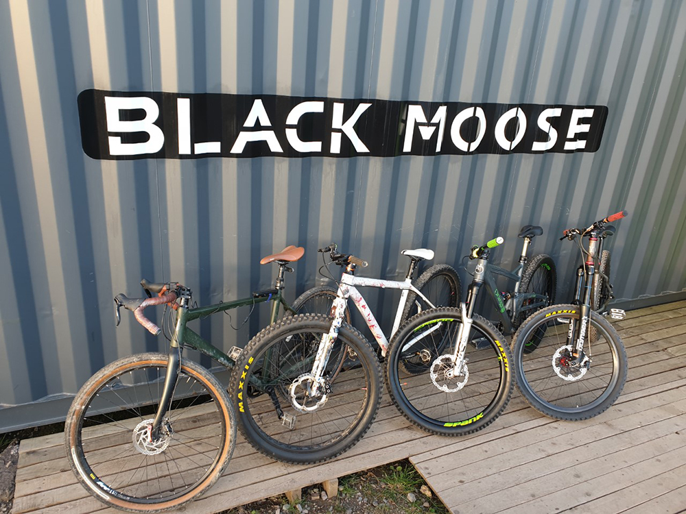 Range of Bicycles from Black Moose Cycles